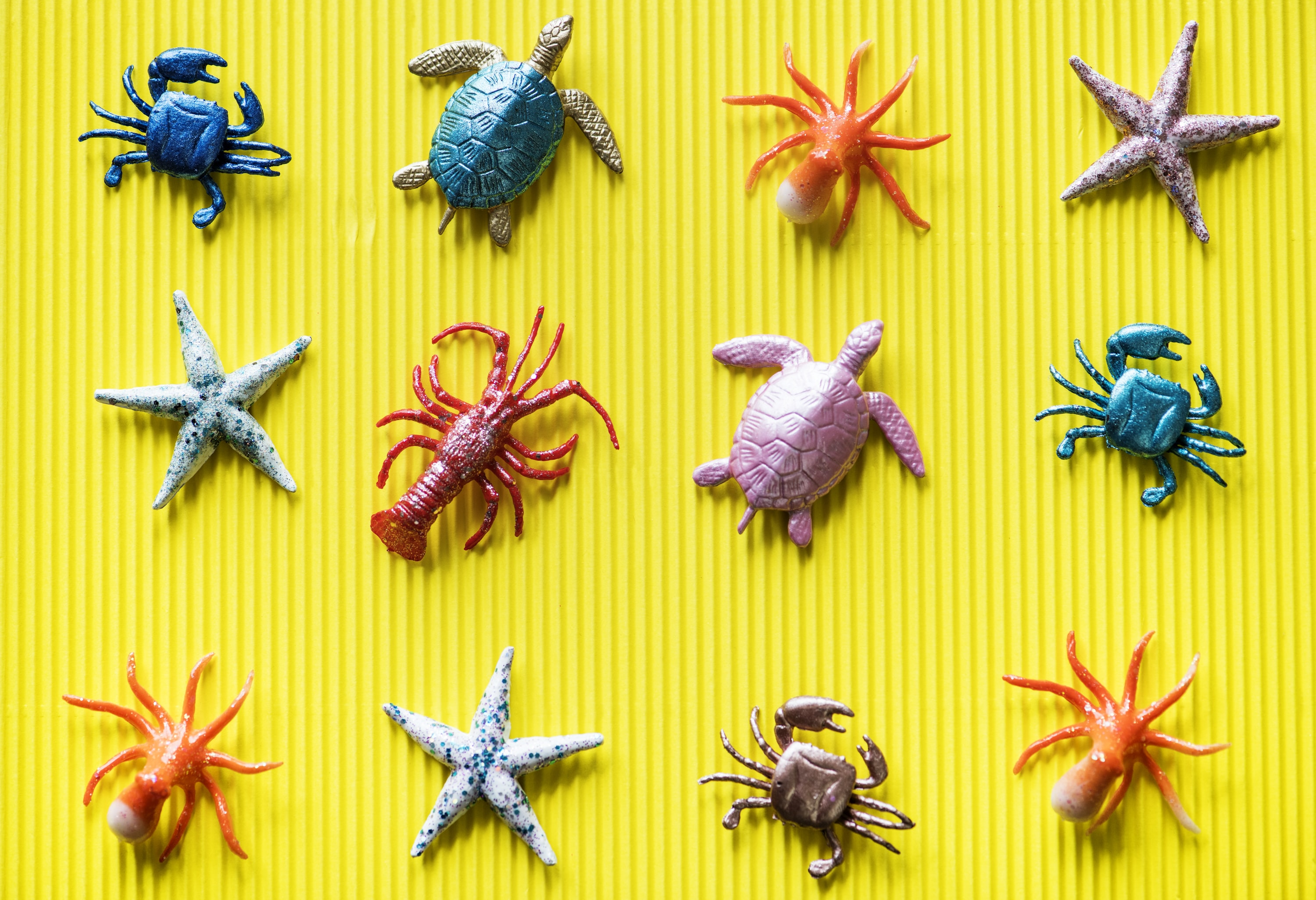 sea creatures plastic figures