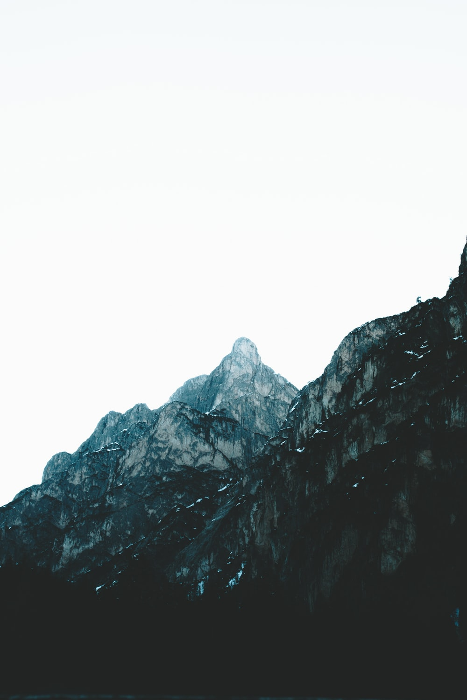 brown rock mountains at daytime