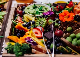 variety of fruits in tray