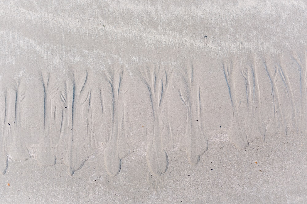 top view photo of seashore