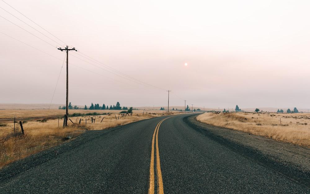 photo of concrete road