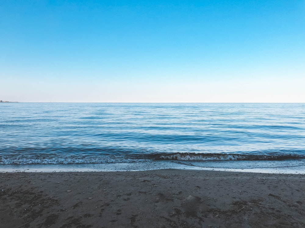 calm sea in nature photography