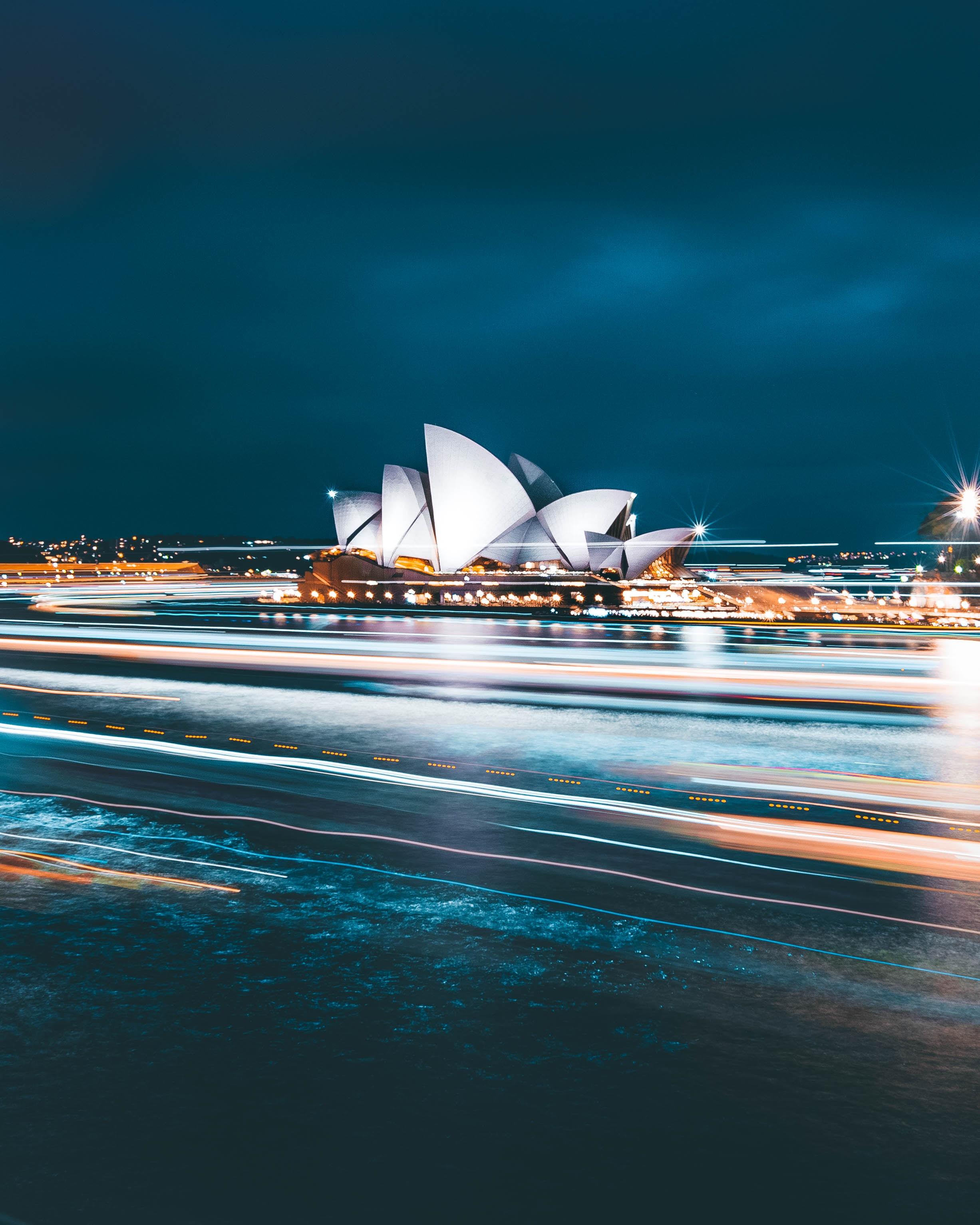 Sydney Opera House during nighttime