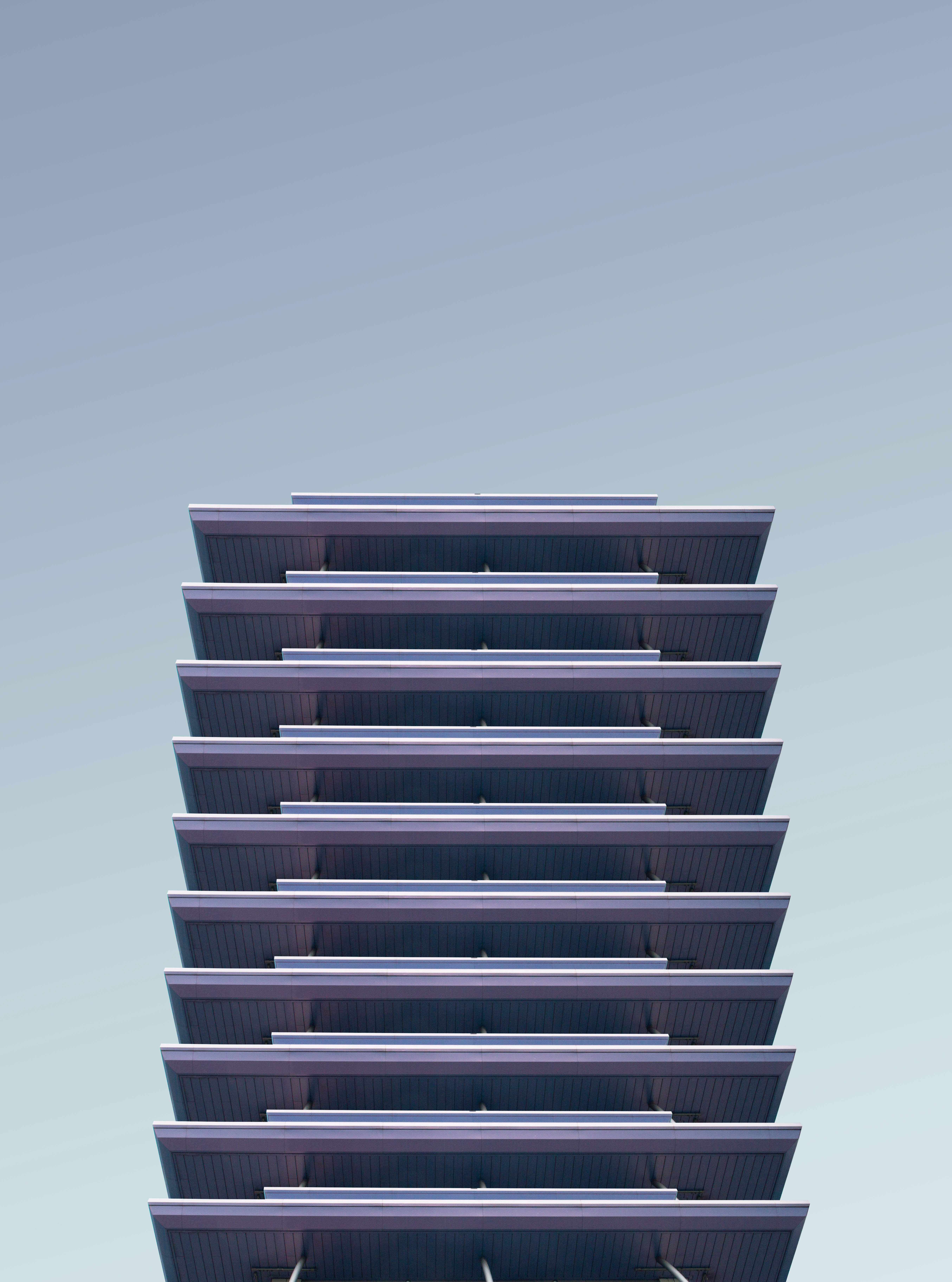 architectural photography of high-rise building