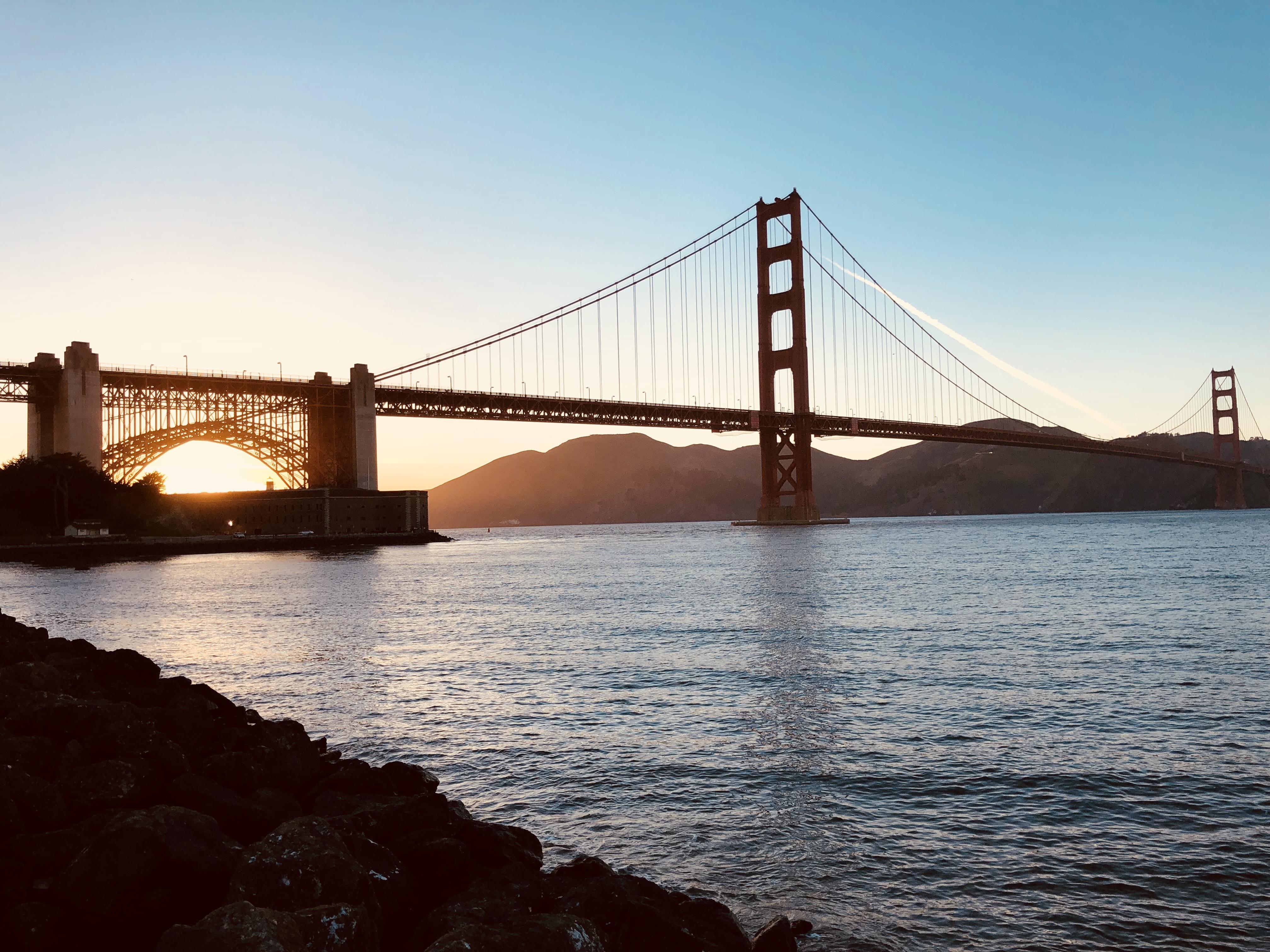 Golden Gate Bridge, California, U.S.A.