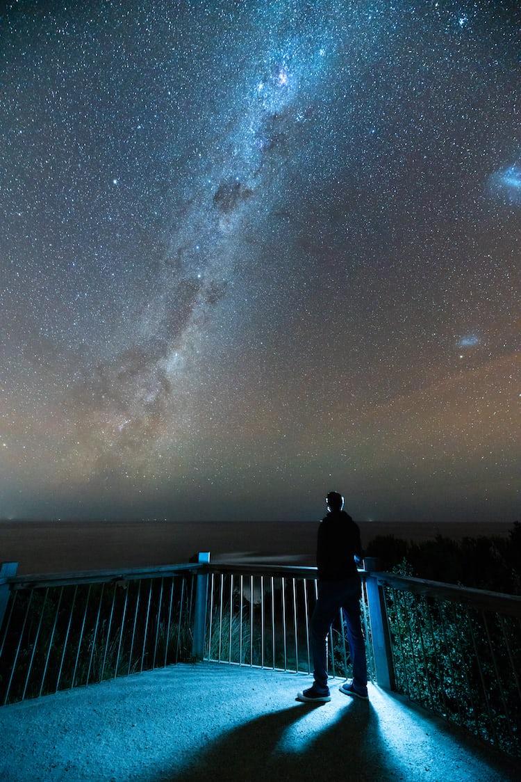 Stars Galaxy Rocky Mountain photo by Jeremy Thomas ...