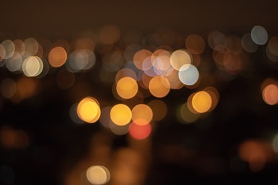 bokeh photography of lights bokeh zoom background
