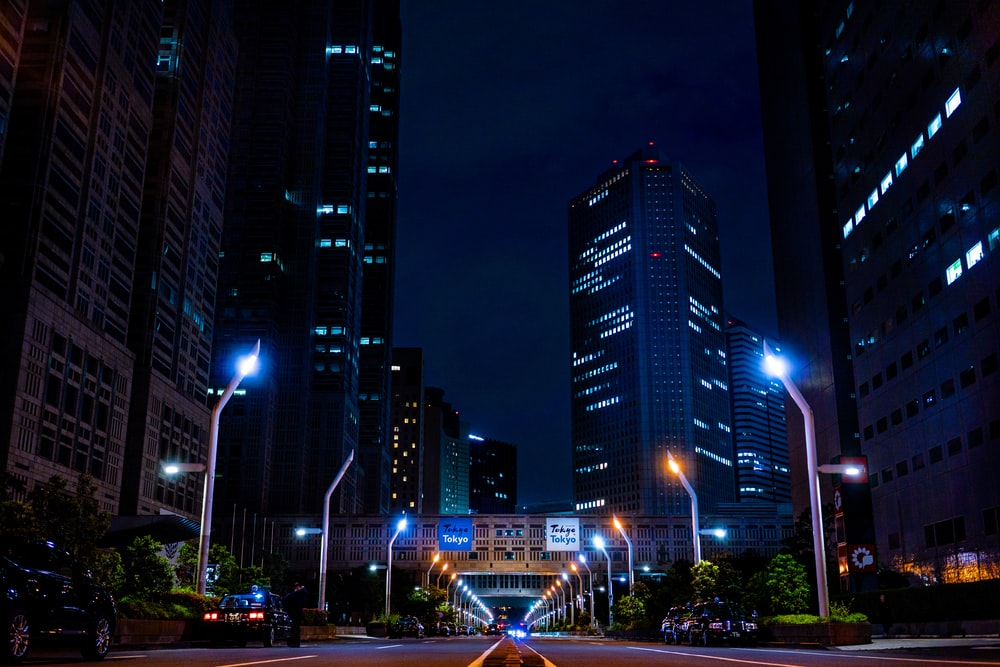 cityscapes during nighttime
