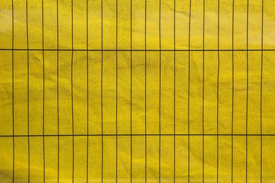 yellow and black ruled paper