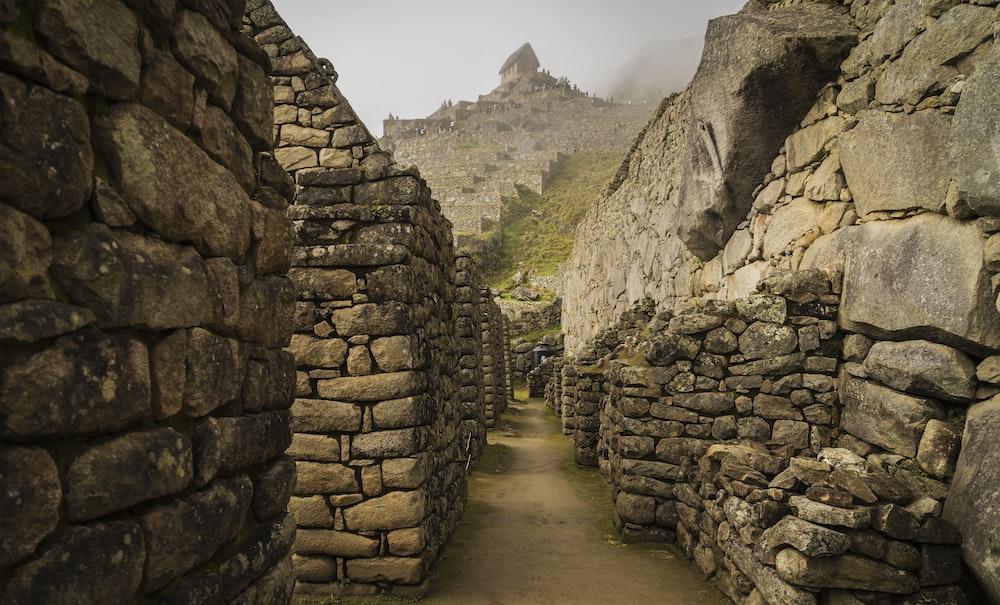empty rock wall