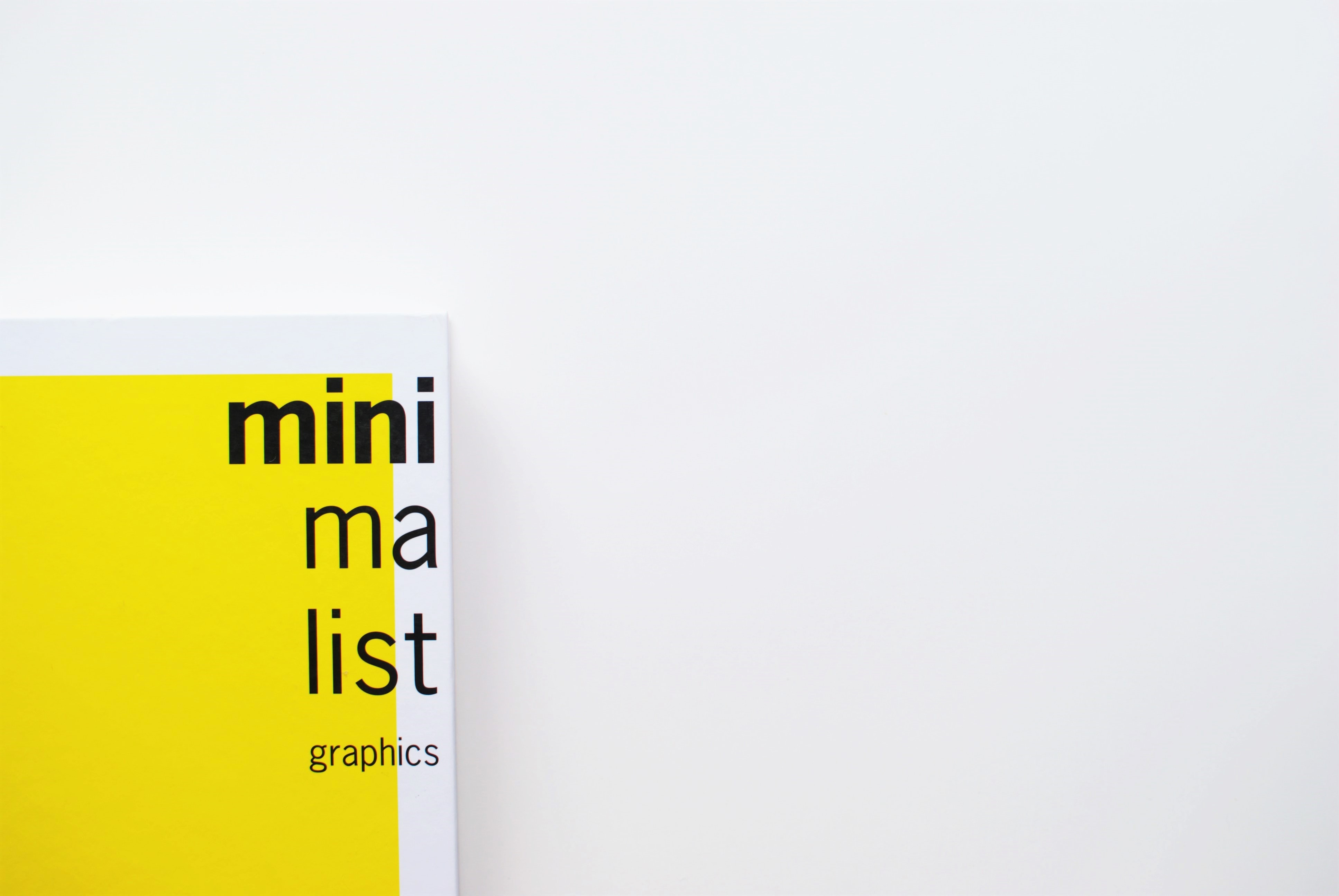 Mini Ma List graphics poster
