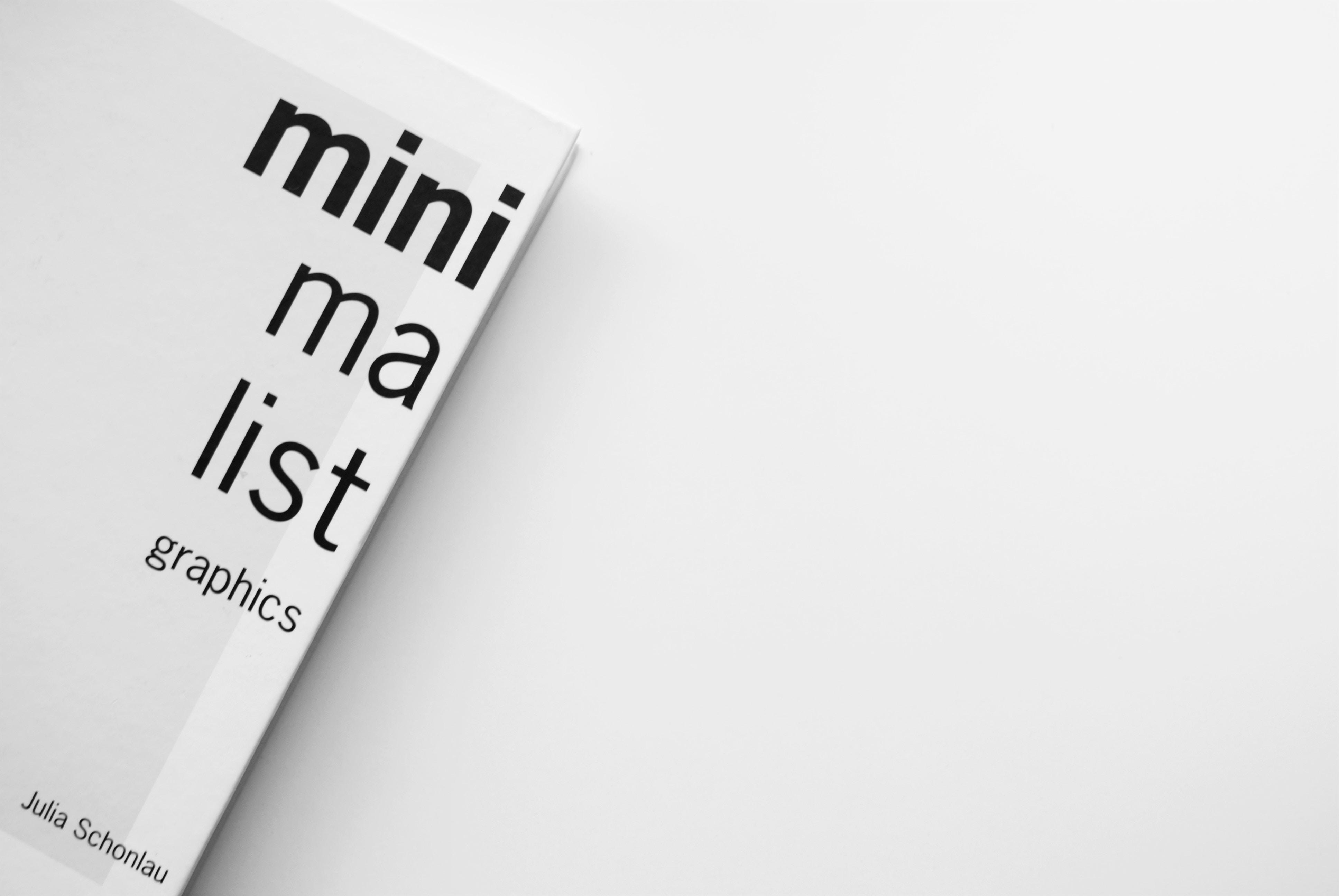 minimalist graphics by Julia Schonlau book