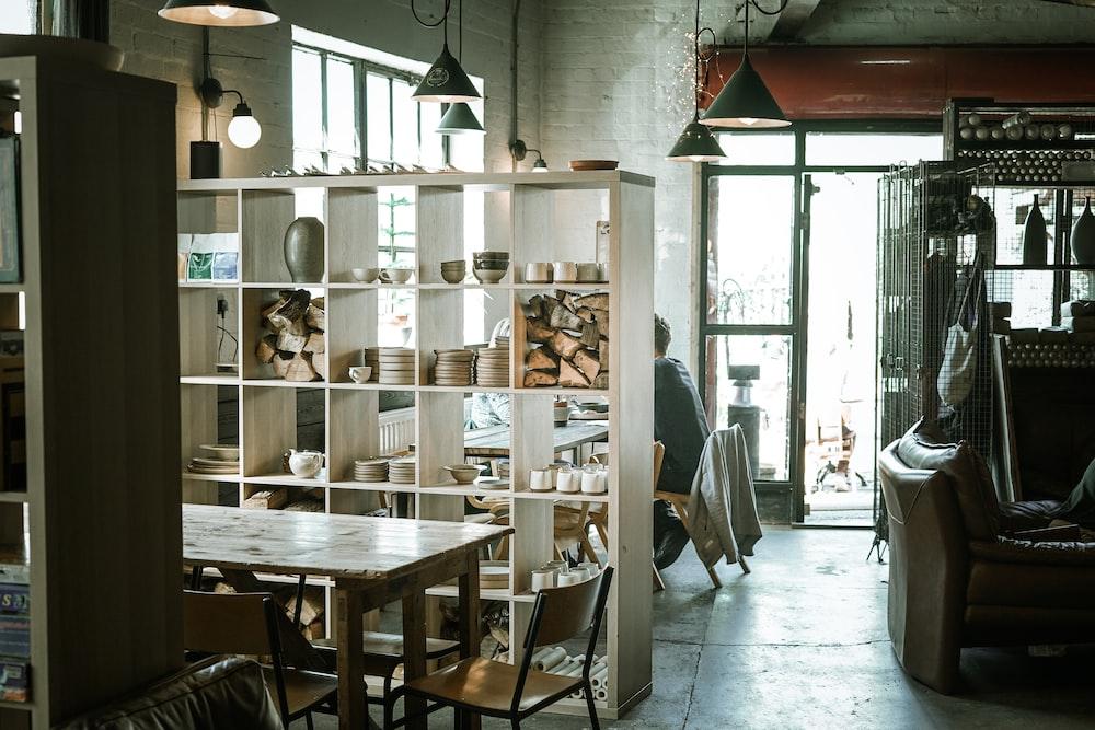 Möbel als Raumteiler