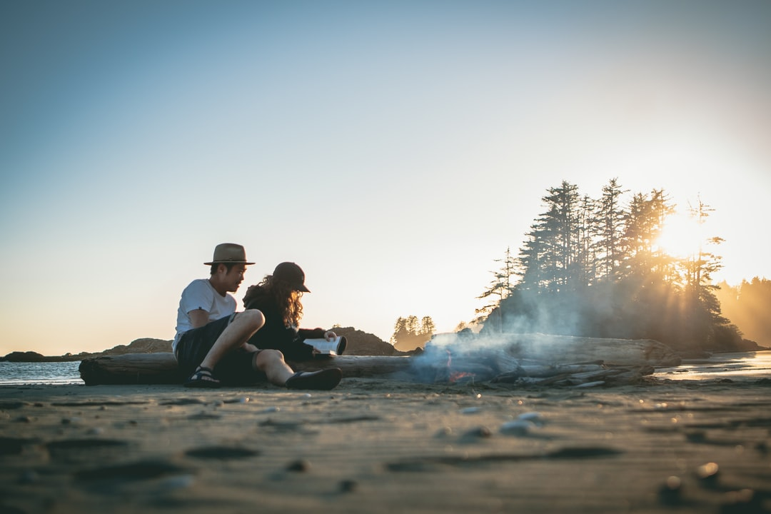 After a 2 hour hike with all our gear on our backs, we found the perfect beach to set up camp for the night. As the sun set, we built a beach fire and talked until the stars revealed themselves.