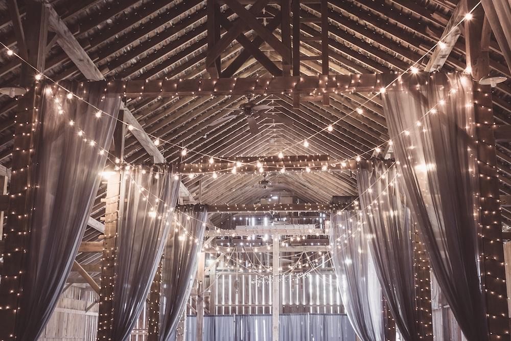 string lights in gazebo