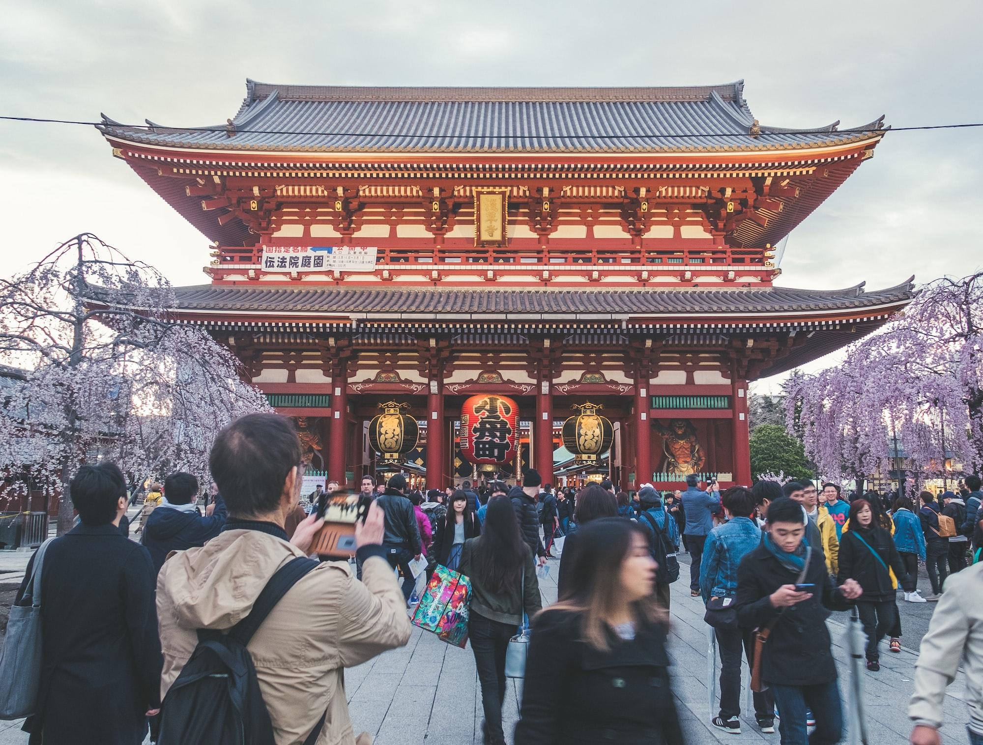 Senso-ji temple in Asakusa (Tokyo)
