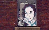 woman's portrait painting