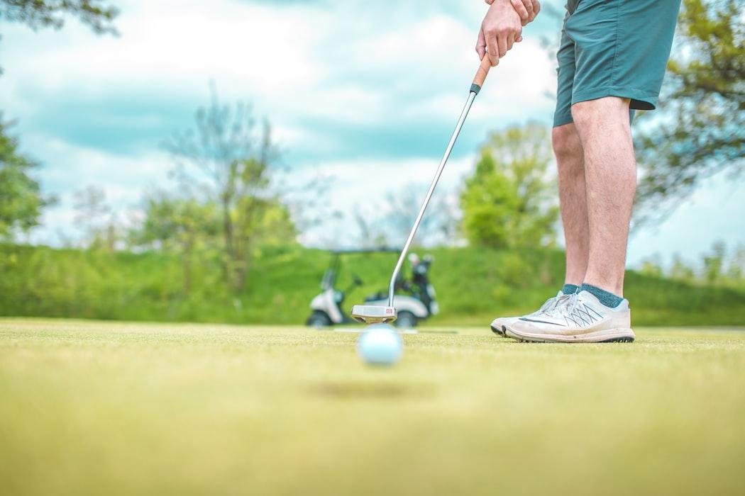 Golfing at Sentosa