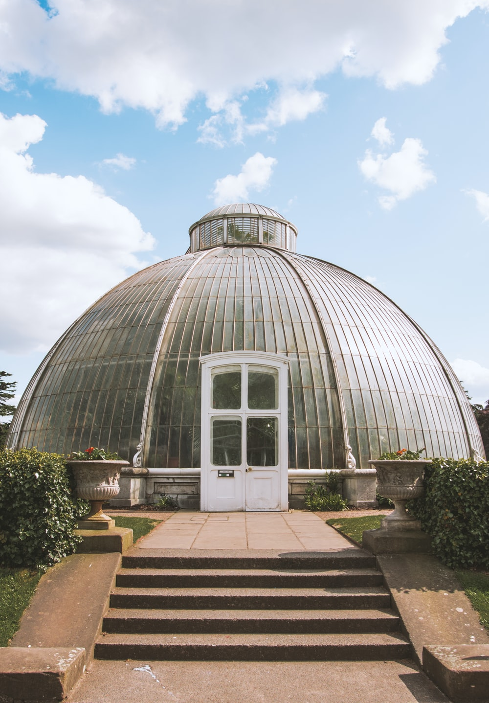 dome-shaped greenhouse