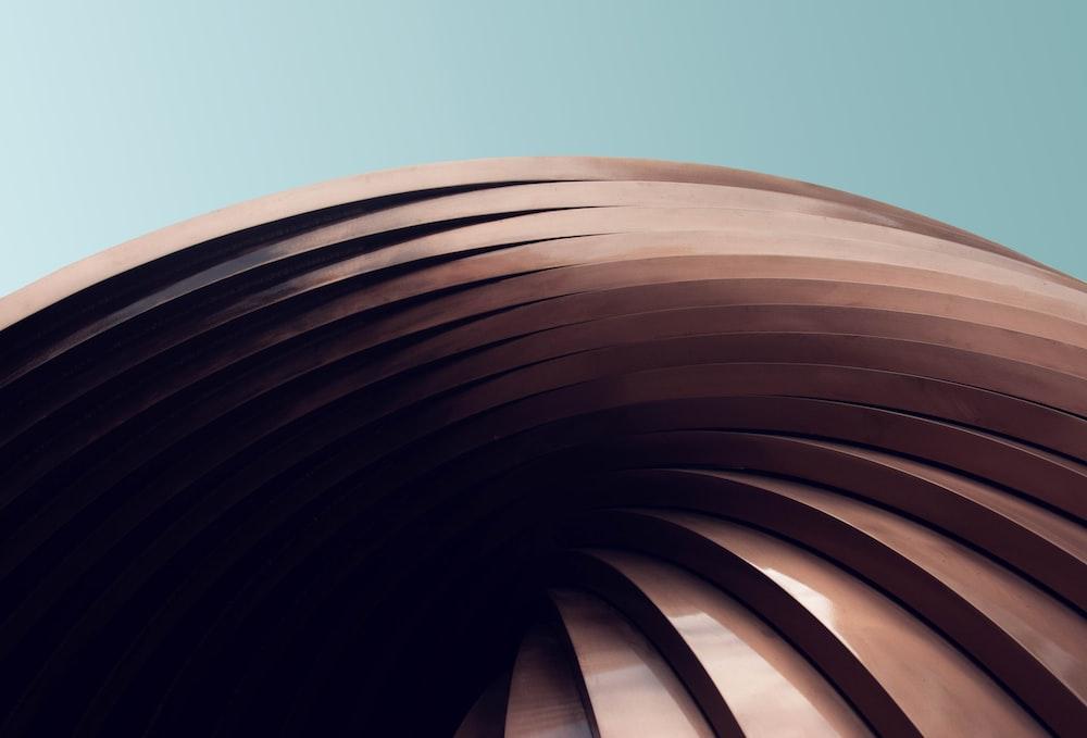brown wooden stairs digital wallpaper