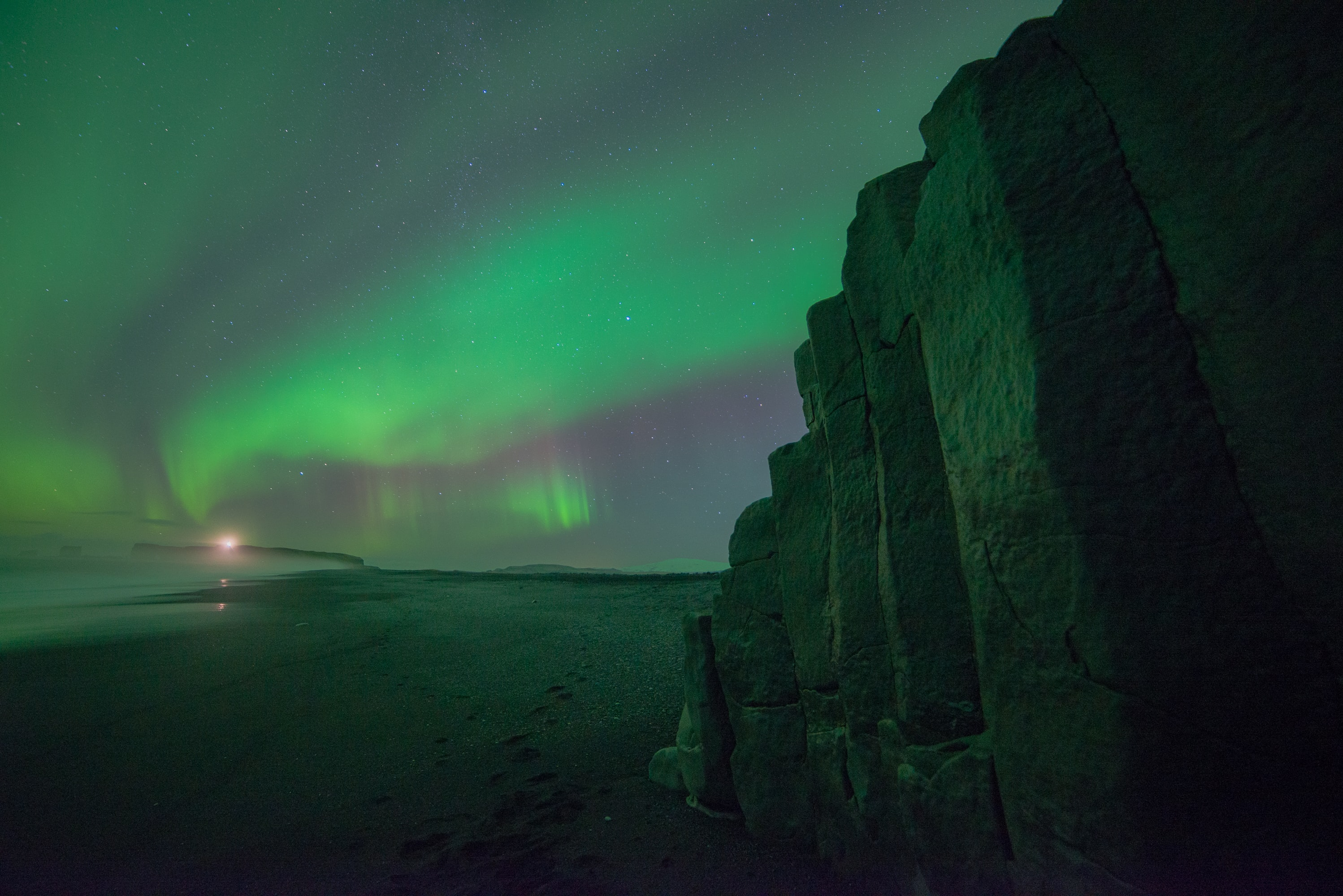 photo of aurora borealis lights