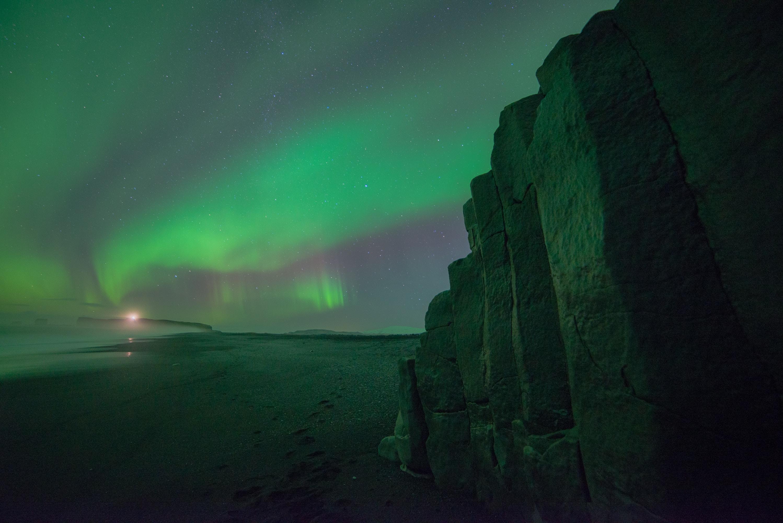 photo of aurora borealis lights