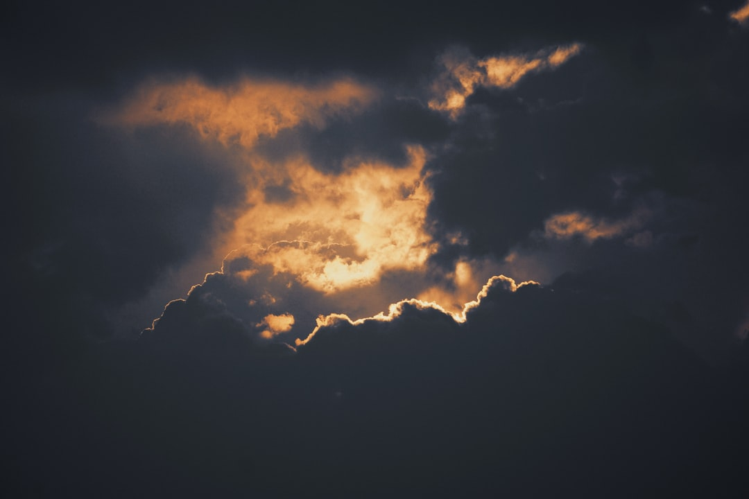 Silver lining in the dark cloud