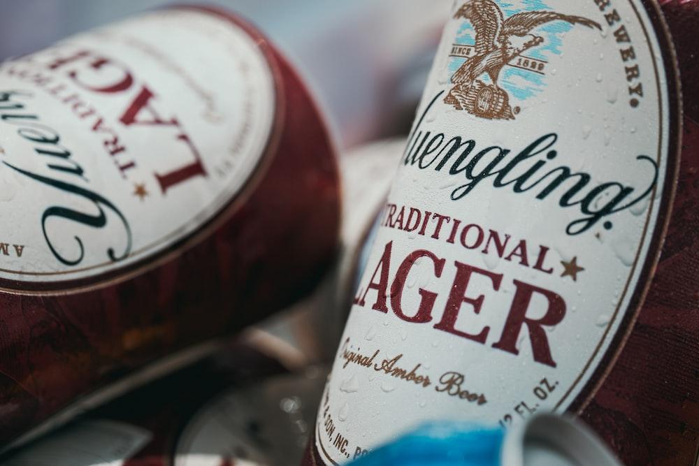 Lager Beer bottle