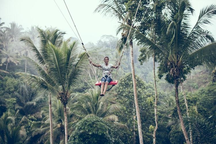 Ziplining, Best Adventure Activities in Bali