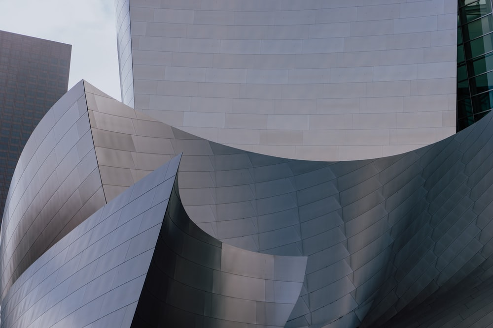 Walt Disney Concert Hall, Los Angeles, United States A minimal shot of the famous Walt Disney Concert Hall in the Downtown LA area. - Kevin McCutcheon