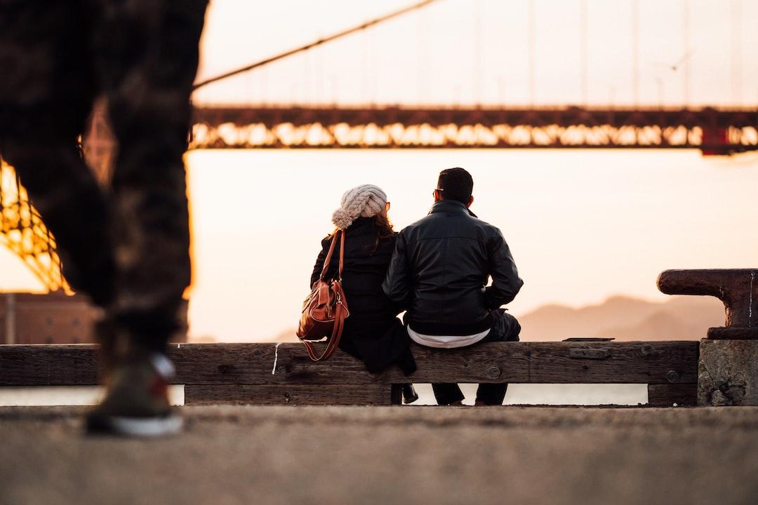 Taking in the Golden Gate bridge