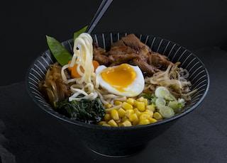 Ramen dish