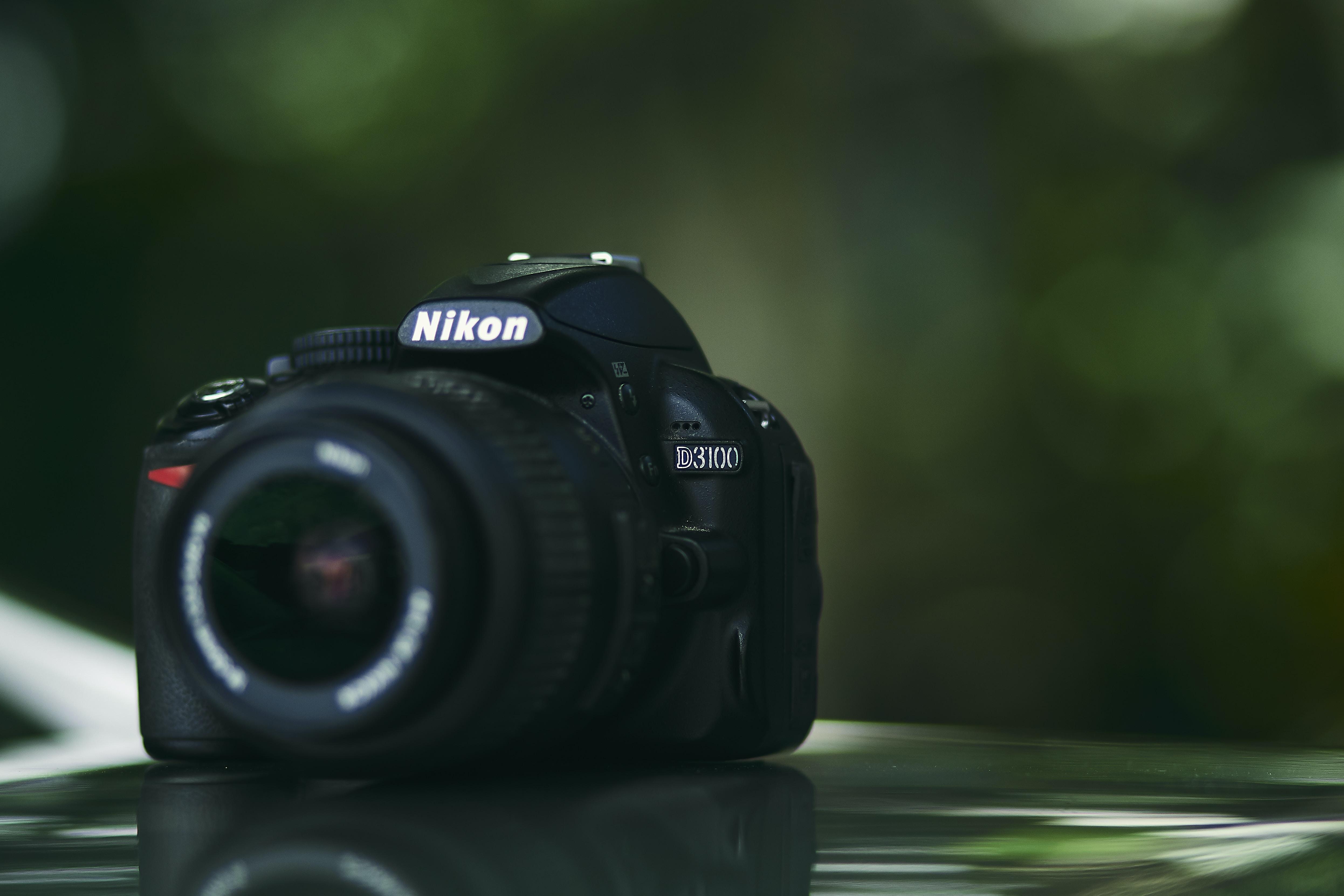 photo of Nikon D300 camera