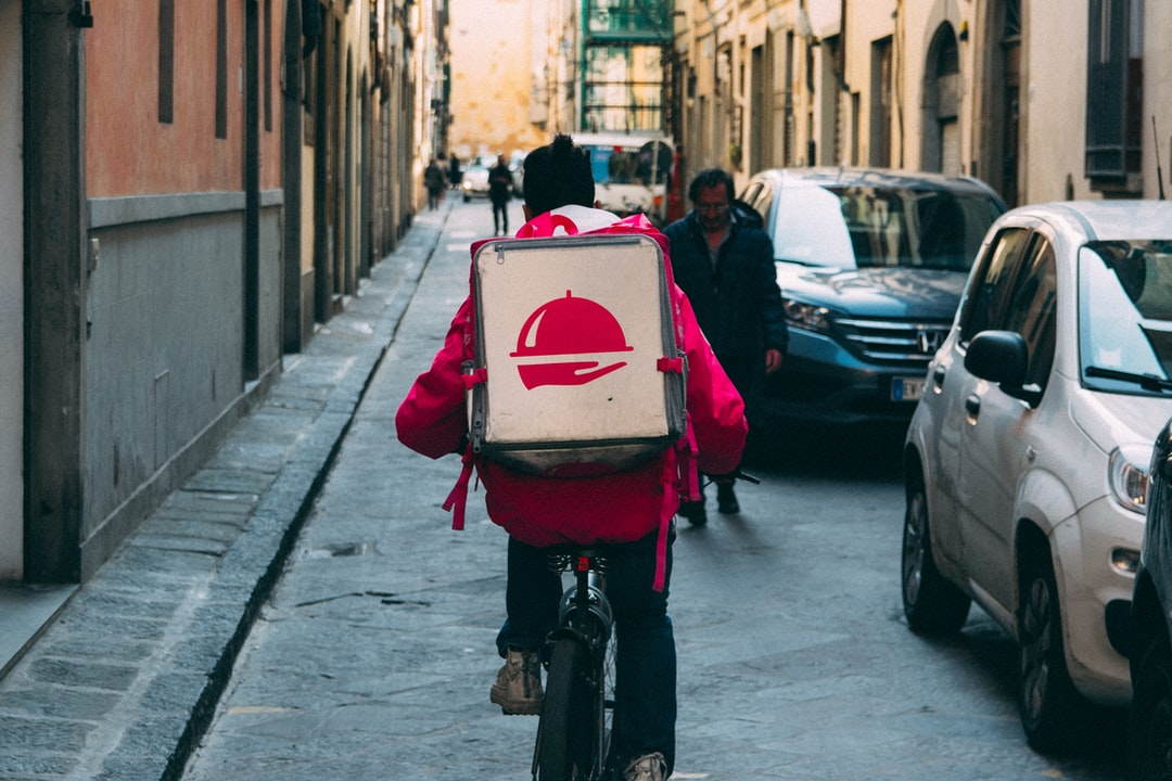 Unterwegs für Foodora oder Deliveroo