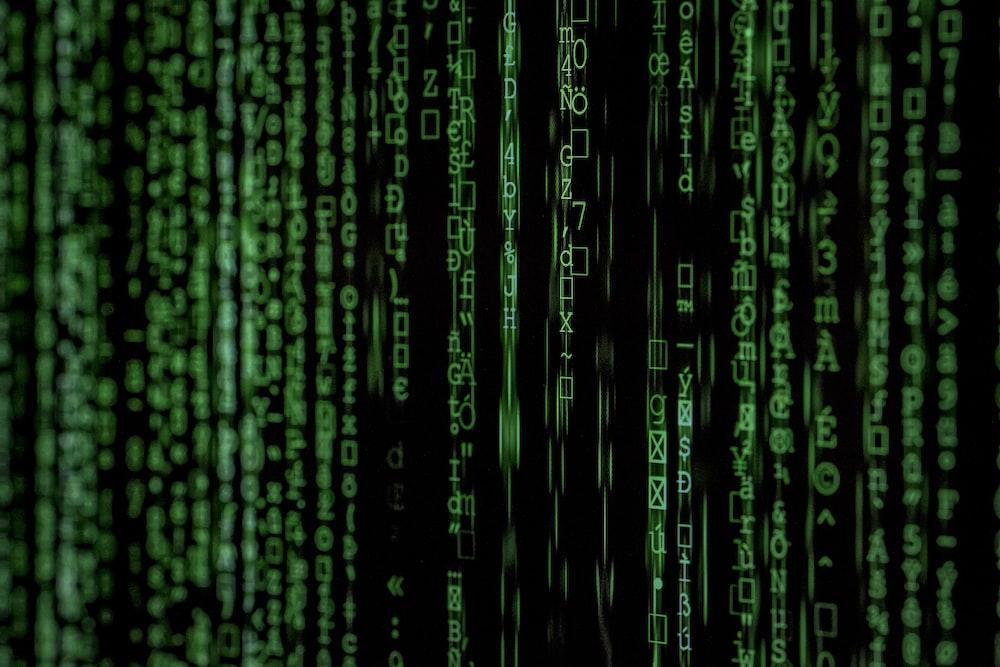 Matrix movie still