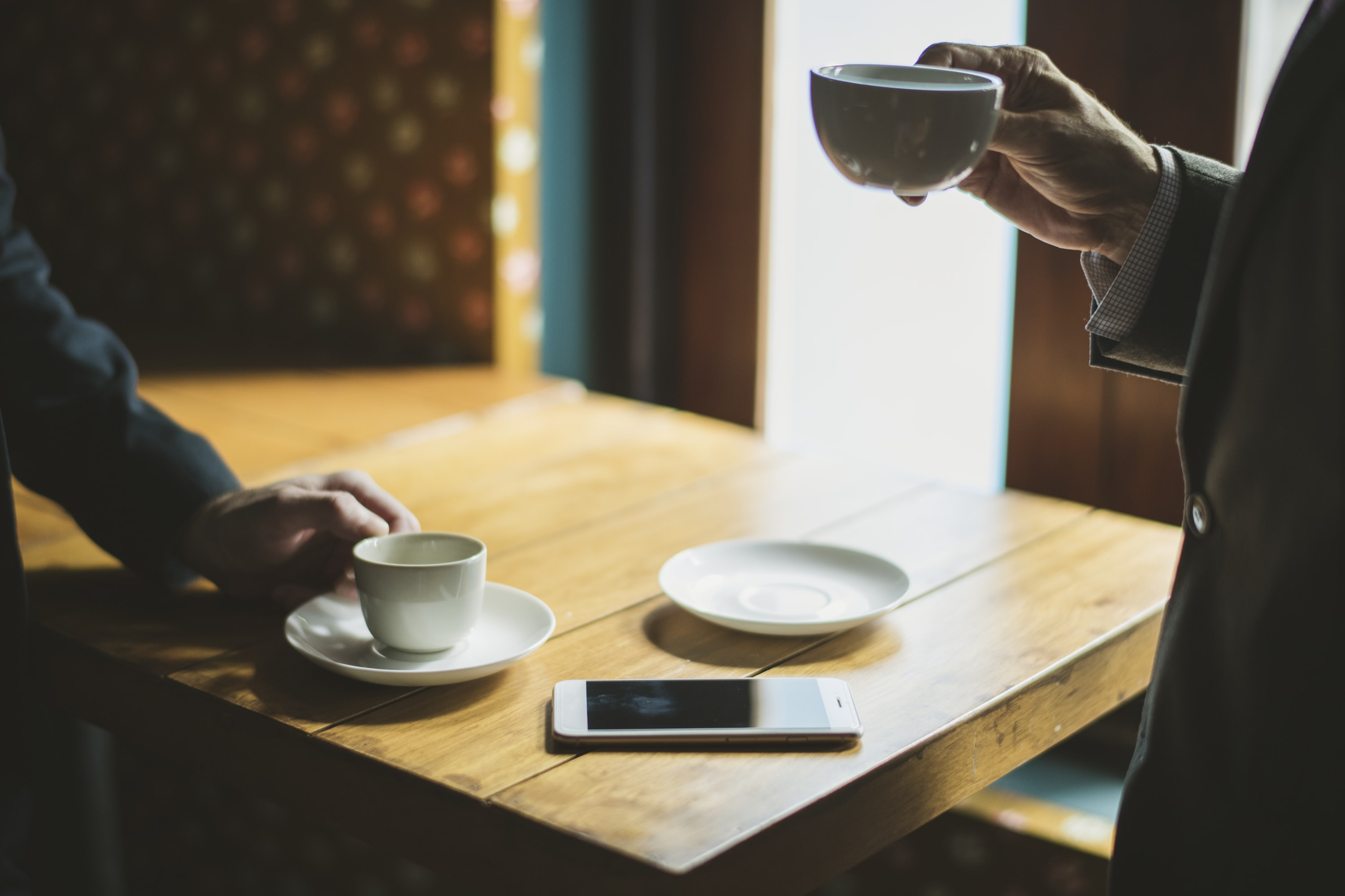 photo of cup on table