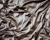 brown silk blanket