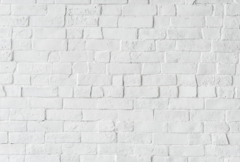 white concrete brick wall