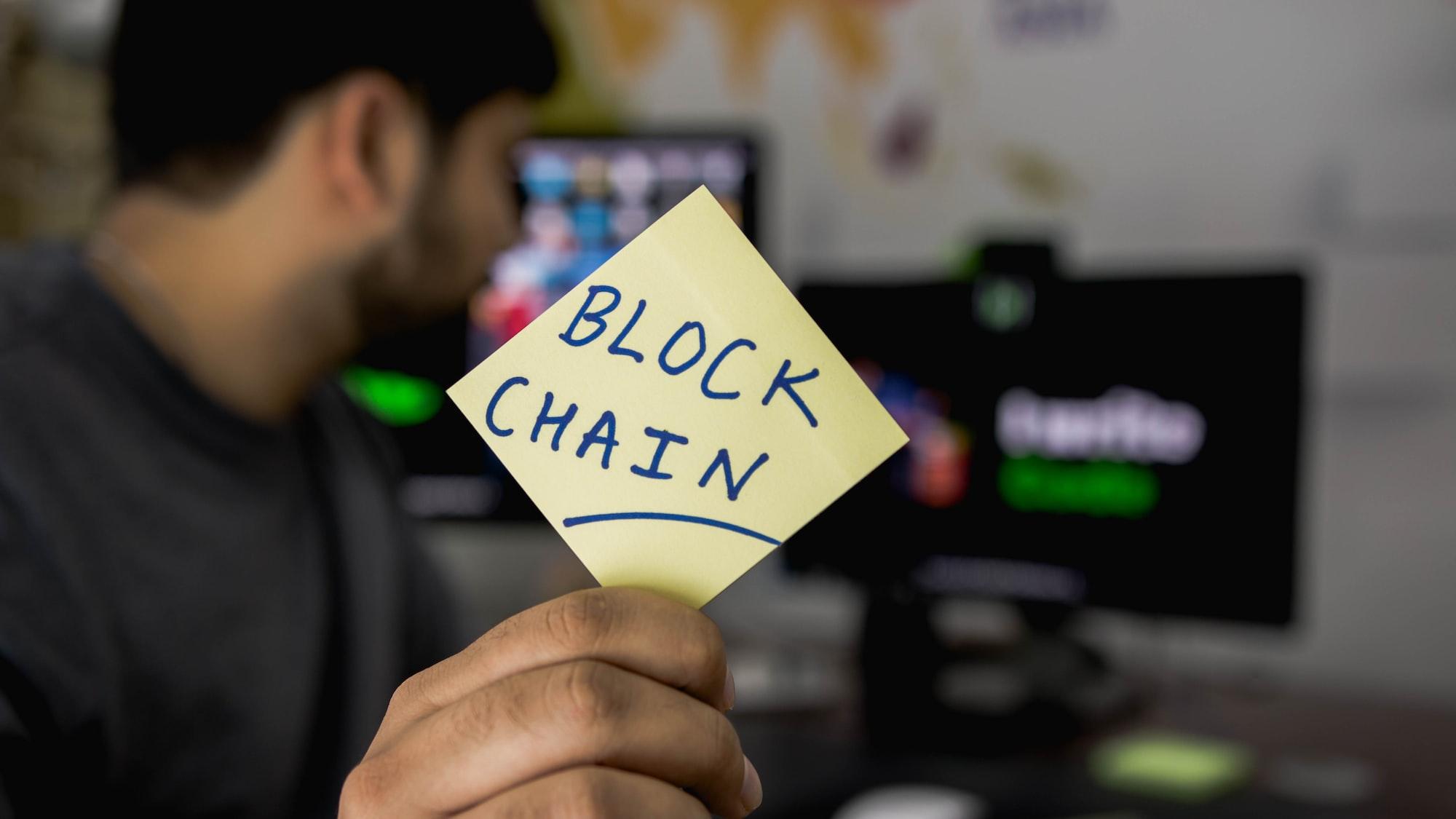 BLOCKCHAIN TECHNOLOGY, IT'S A NEW JOURNEY.