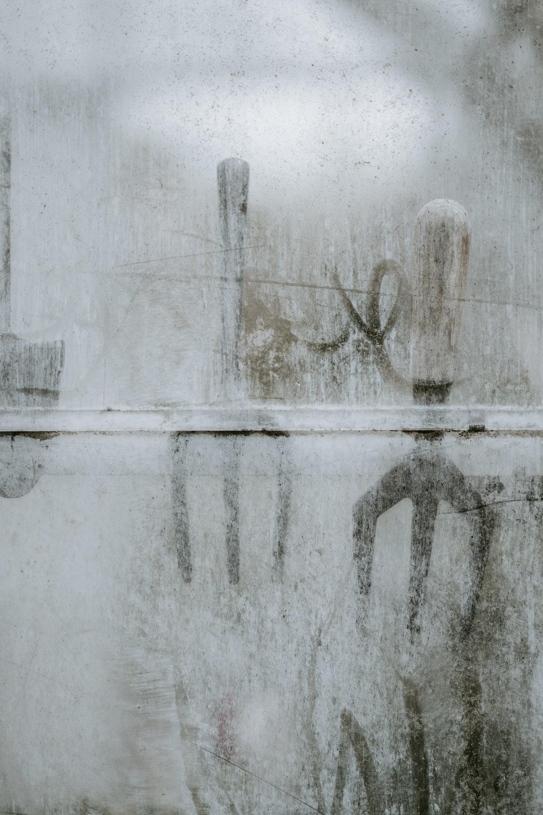 Through the greenhouse pane