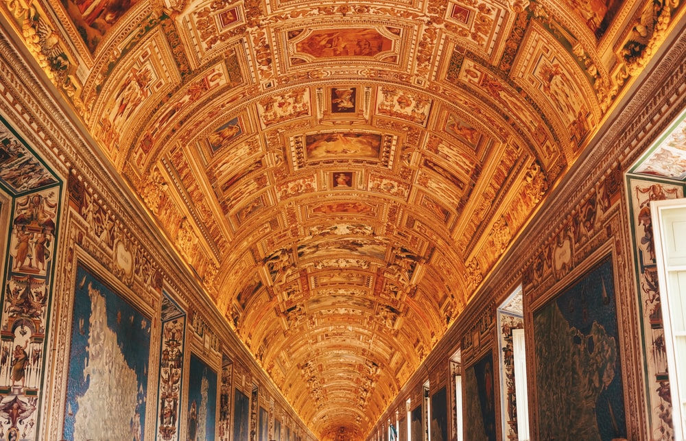 Brown, architecture, vatican museums and roma | HD photo ...