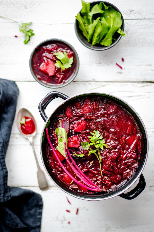 pot of red sauce food