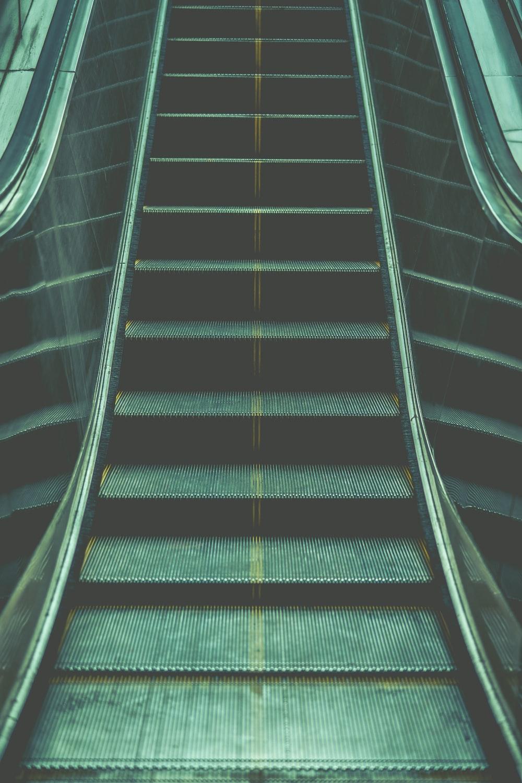 photo of excalator