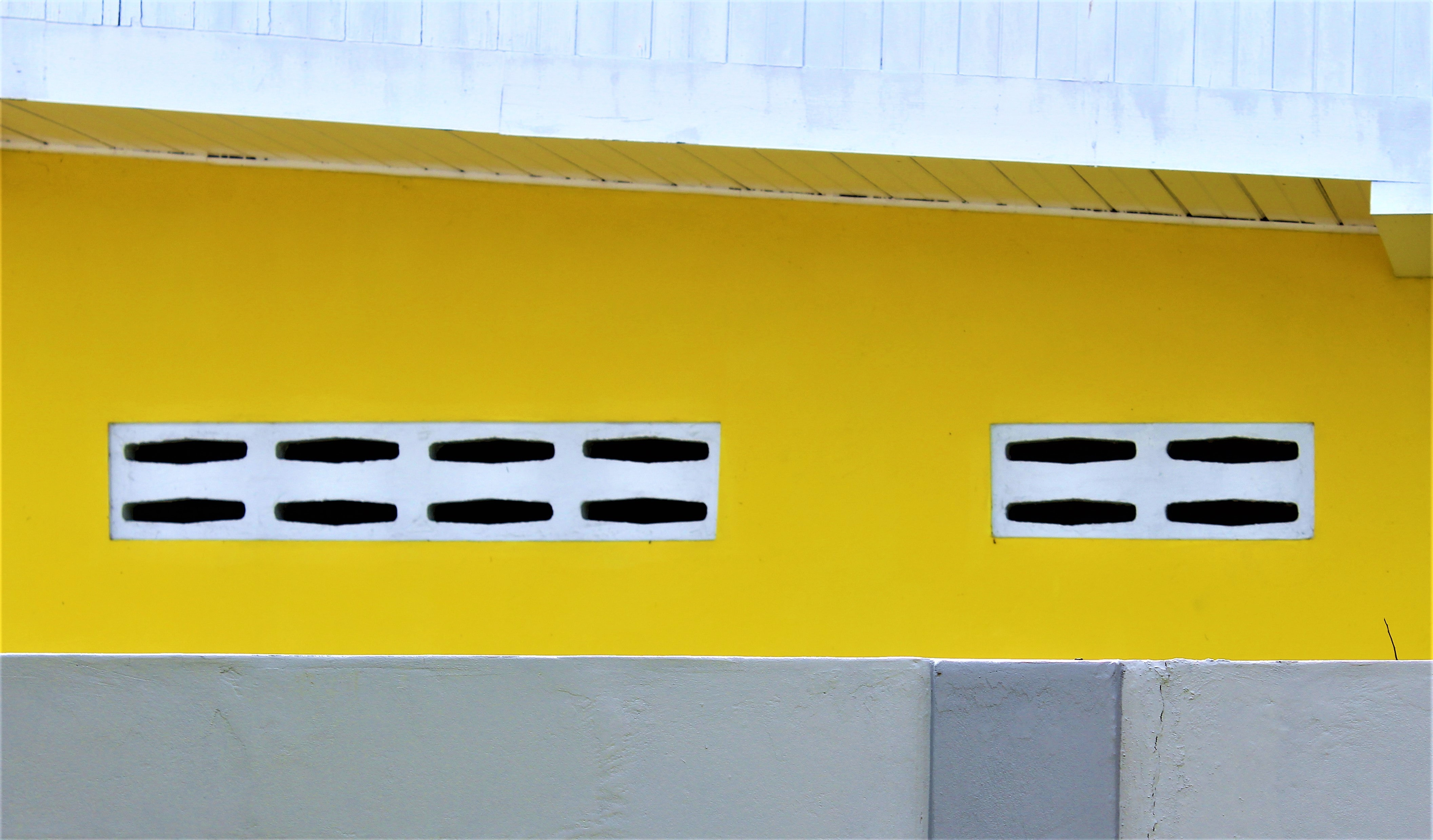 yellow and white surface