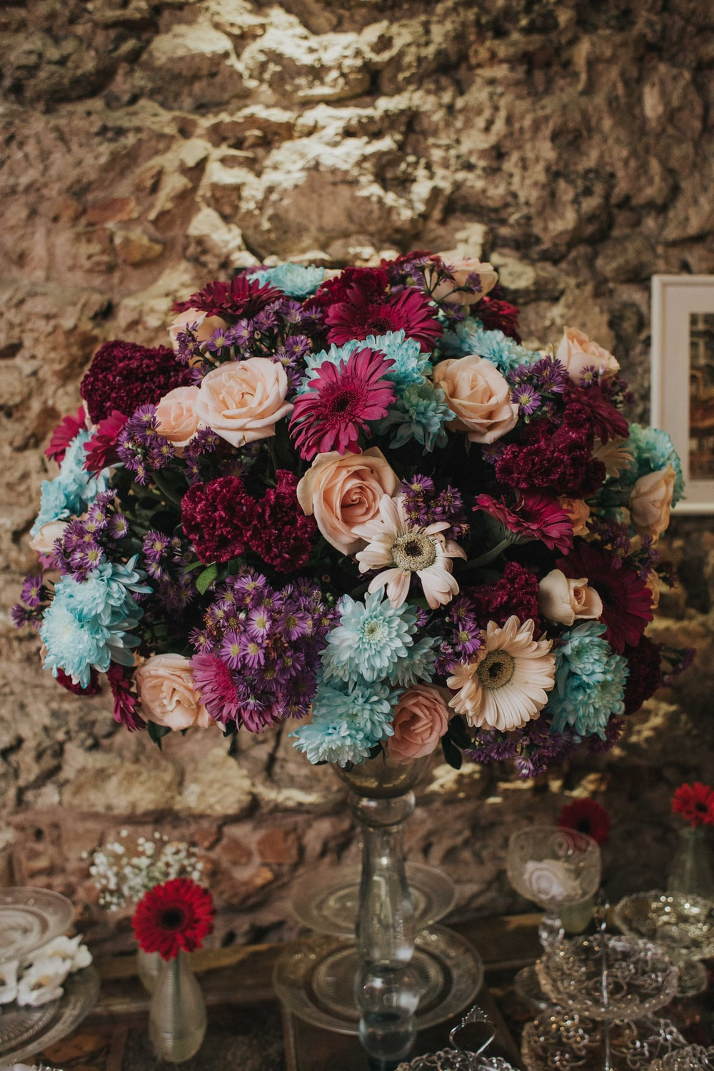 100 wedding flower pictures download free images on unsplash multicolored bouquet flowers izmirmasajfo