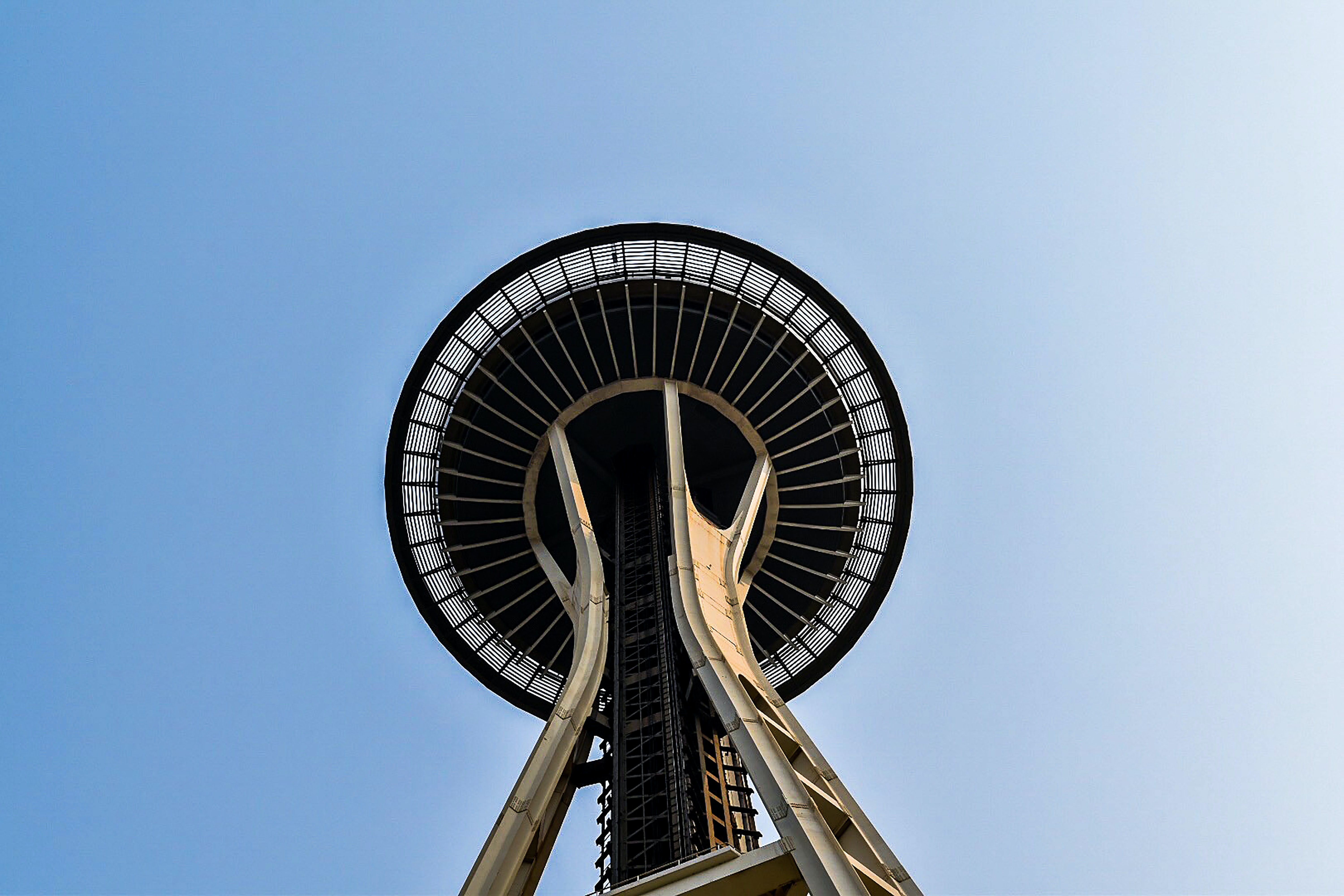 low angle photography of Space Needle, Seattle