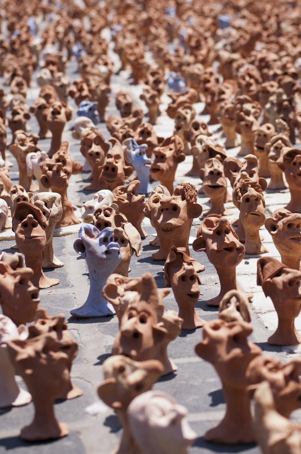 clay head lot