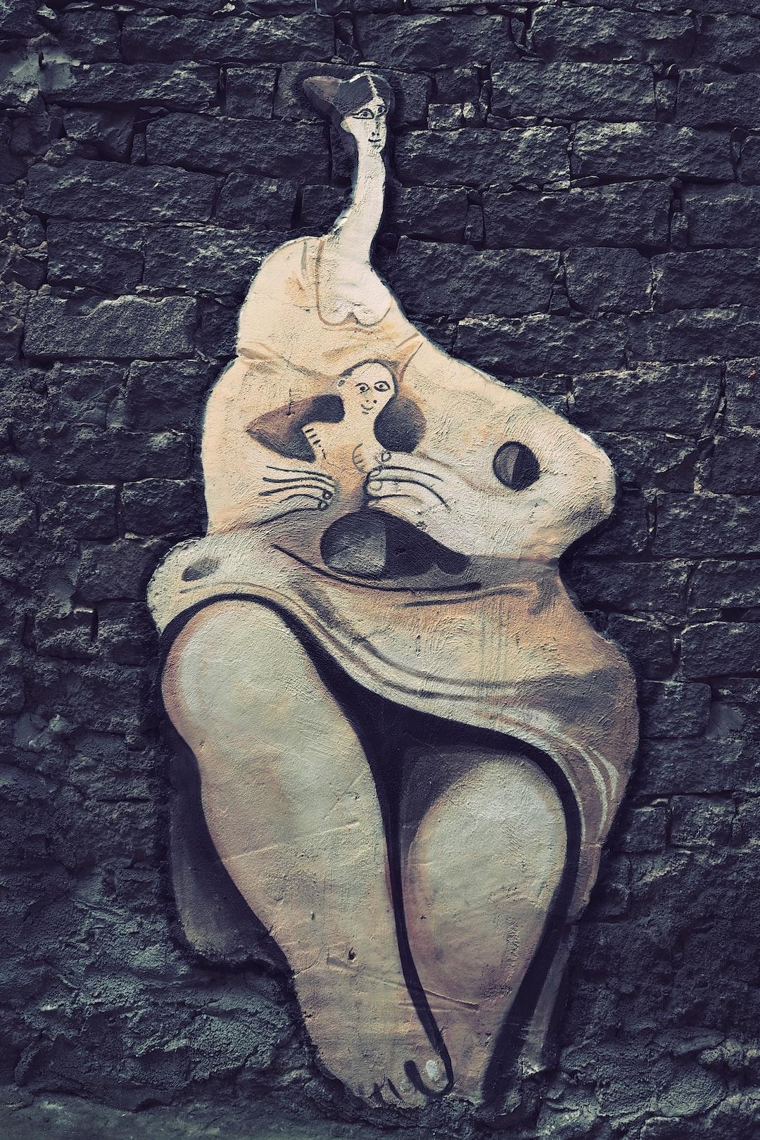 Un murales di Orgosolo, la tradizione si tramanda nel tempo. Une peinture murale d'Orgosolo, la tradition se transmet au fil du temps. A murals of Orgosolo, the tradition is handed down over time.