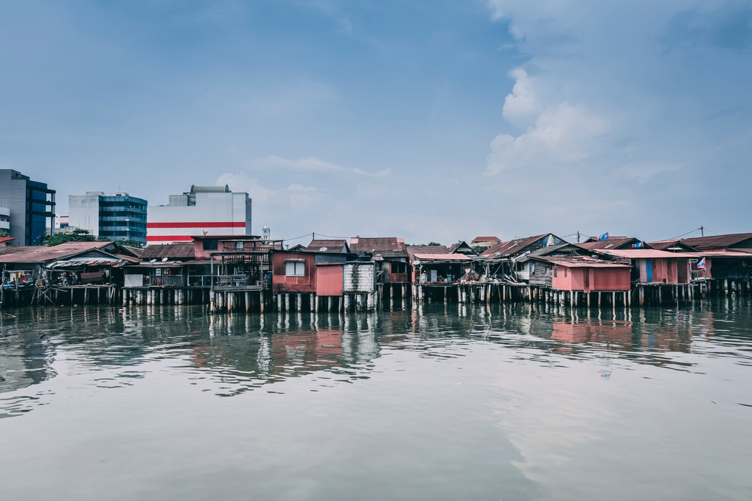 Old Atap Houses By Chew Jetty