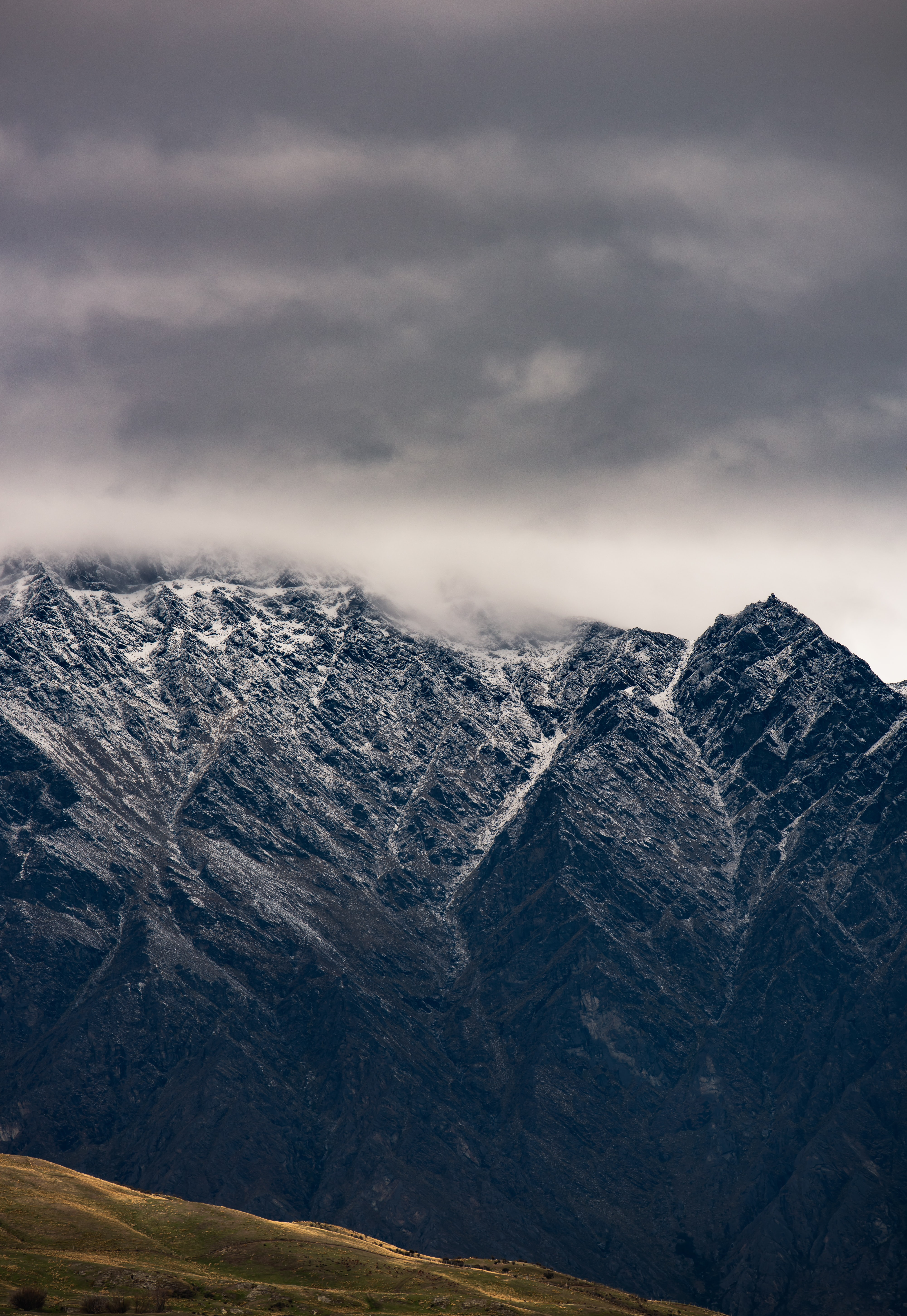 high-photography of mountains